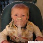 Baby Nebulizer Breathing Treatment