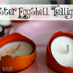 Dyed Easter Eggshell Tealights
