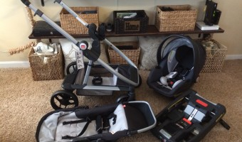 GB Evoq Travel System for your growing child and a sibling!