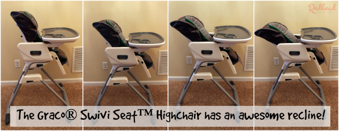 elegant the swivi seat highchair from graco gives baby a view with reclining baby high chair & Reclining Baby High Chair. Finest New Listingbaby High Chair ... islam-shia.org