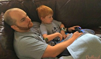Video Games with Daddy
