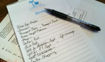 I need lists to remember everything post-baby!