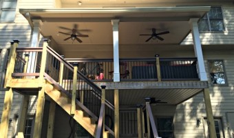 The Great Southern Covered Deck Makeover
