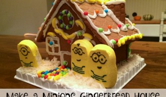 Make a Minions Gingerbread House