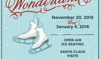 Marietta's Winter Wonderland with Skating Rink!