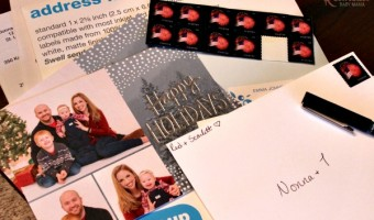 New Milestones Call for Special Holiday Cards