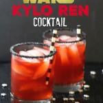 Star Wars Kylo Ren Cocktail