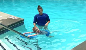 How we Got Swimming Lessons at Home