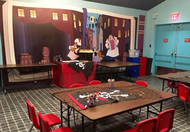 Lady and the Tramp Activity Center | Lilo's Playhouse, Polynesian Resort Childcare at Disney | Redheadbabymama.com