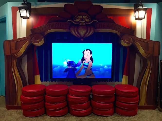 Pinocchio Theatre | Lilo's Playhouse, Polynesian Resort Childcare at Disney | Redheadbabymama.com
