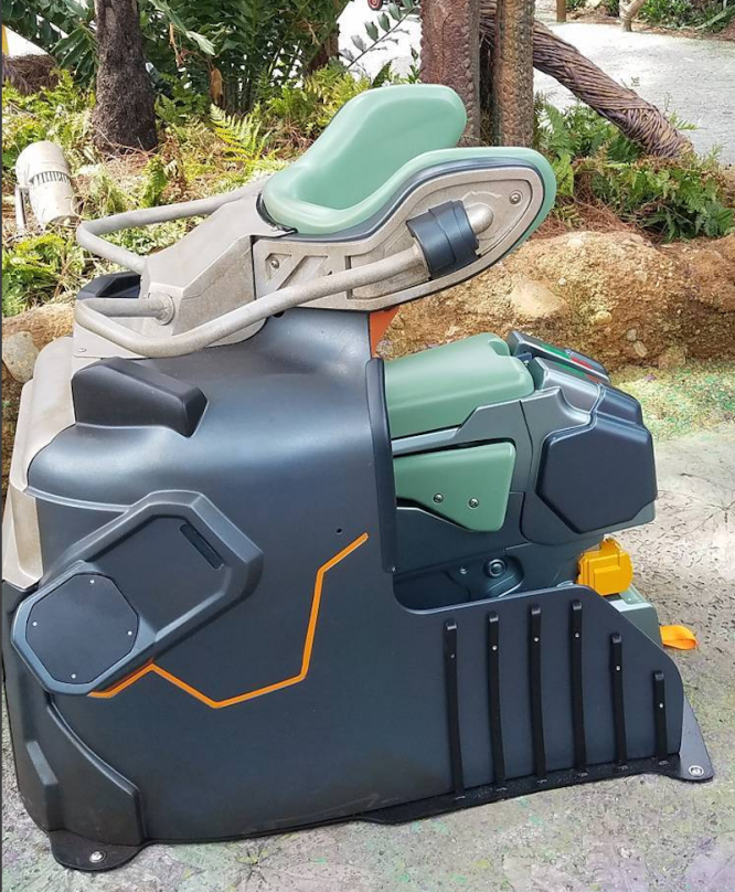 Pandora Avatar Flight of Passage Rider Seat at Walt Disney World Resort