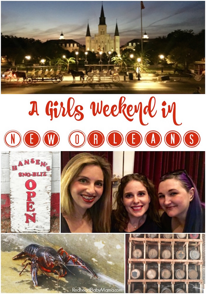 Plan a Girls Weekend in New Orleans. Museums, Food, Fun! | Redheadbabymama.com