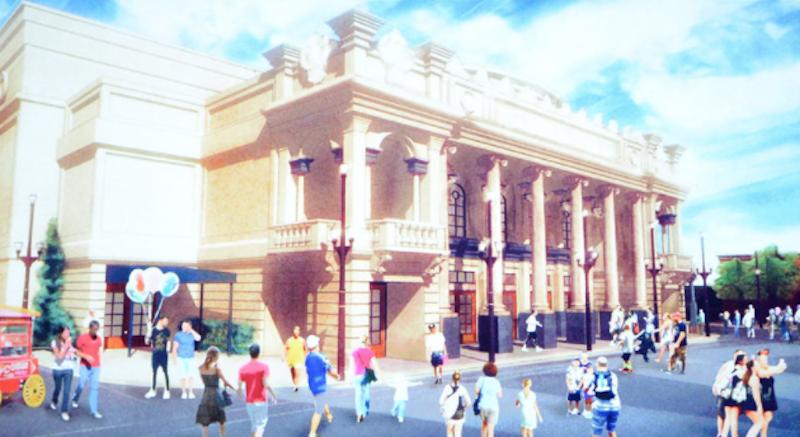 Magic Kingdoms new live entertainment theatercoming to Main Street, U.S.A.