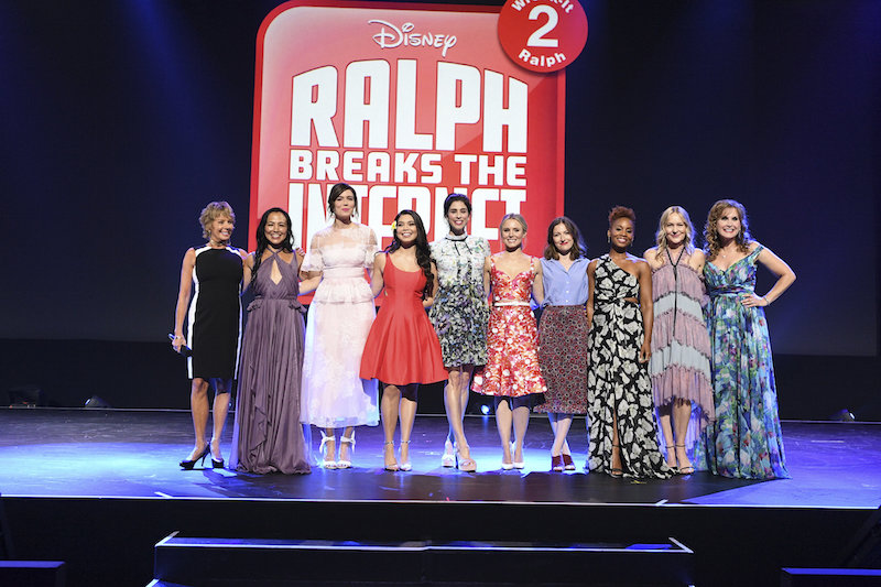 ALL the Disney Princesses join forces for Wreck It Ralph 2!
