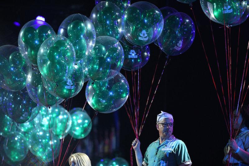 Green Balloons story at D23