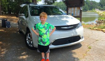 The Kid Approved Chrysler Pacifica