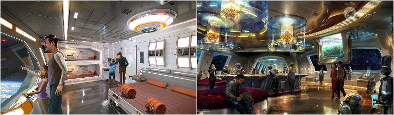 """The New Star Wars Immersive Hotel will include clothes and """"space"""" windows!"""