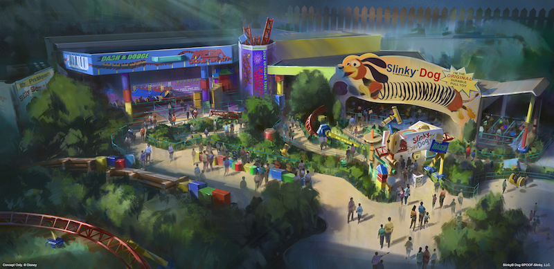 Toy Story Land in Walt Disney World comes to life