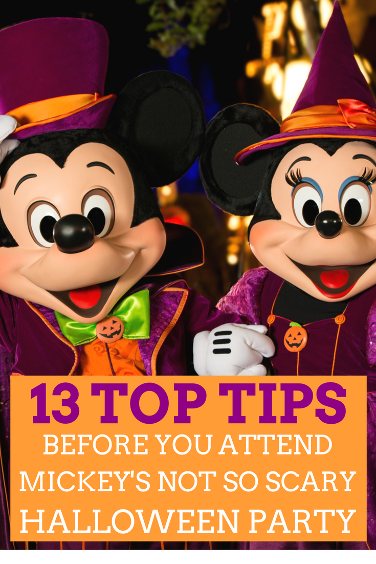 13 Top Tips Before Attending Mickey's Not So Scary Halloween Party ...
