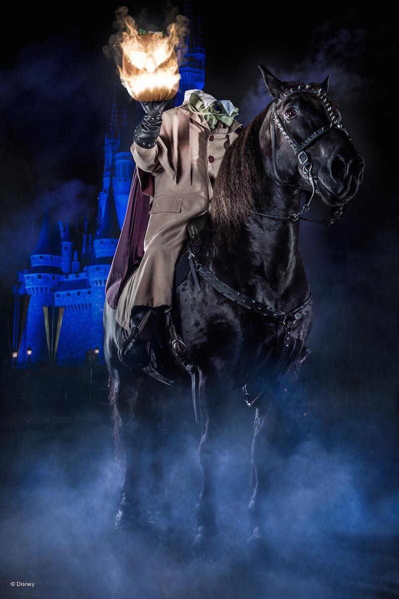 Mickey's Not So Scary Halloween Party Headless Horseman