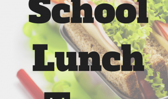 What's on your Kid's School Lunch Tray?