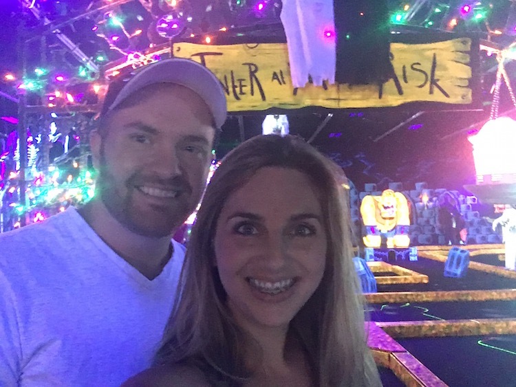 Just like our first date! Putt Putt Date Night Idea: Loser Buys Ice Cream