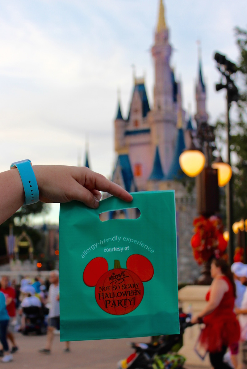Allergy Friendly Trick or Treating at Mickey's Not So Scary Halloween Party