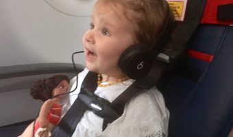 Kids Fly Safe with a CARES Harness