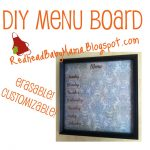 Pinterest Project: Menu Board