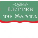 Free Christmas Printable: A Letter to Santa
