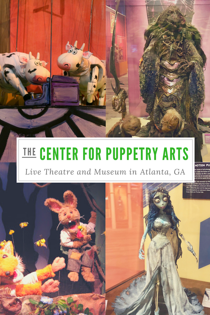 Ready to get creative? Take your family to the Atlanta Center for Puppetry arts to see the latest and greatest in puppetry theatre.