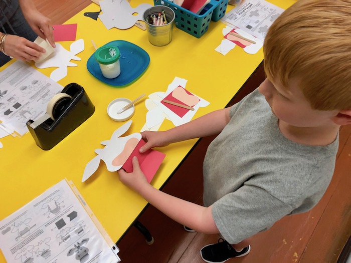 ATlanta center for puppetry arts create a puppet workshop