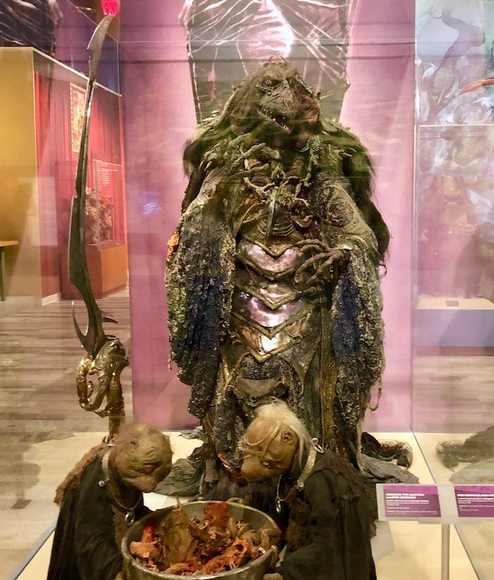 Skeksis puppet from Dark crystal