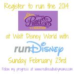 My 2014 @RunDisney #PrincessHalf Registration