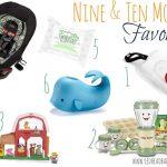 Nine & Ten Month Favorites for Baby