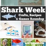 Shark Week Crafts, Recipes, and Games