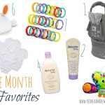 Three Month Favorites for Baby (Registry List)