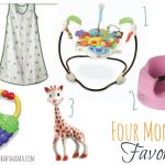 Four Month Favorites for Baby (Registry List)
