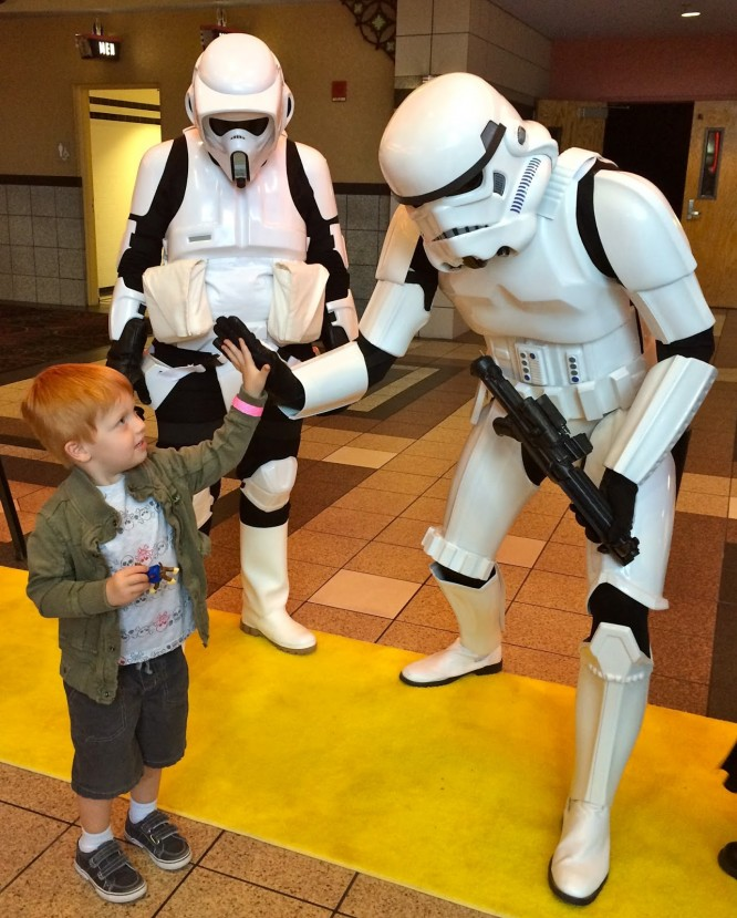 meet a stormtrooper star Wars