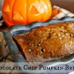 Chocolate Chip Pumpkin Bread