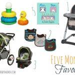 Five Month Favorites for Baby (Registry List)