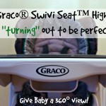 A 360° view with the Graco® Swivi Seat™ Highchair