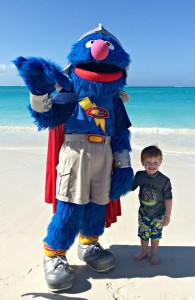 Super Grover at Beaches Turks and Caicos