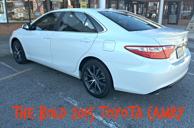 The Bold 2015 Toyota Camry