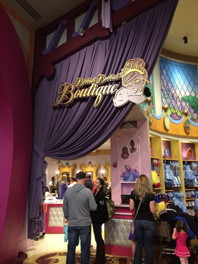 Bibbidi-bobbidi-boutique at Downtown disney