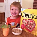 Our Better Breakfast with Cheerios