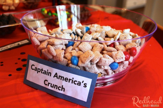 Captain Americas Crunch Avengers Snack