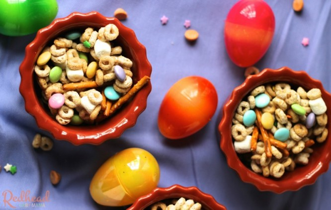 Easter Bunny Bait Snack Mix