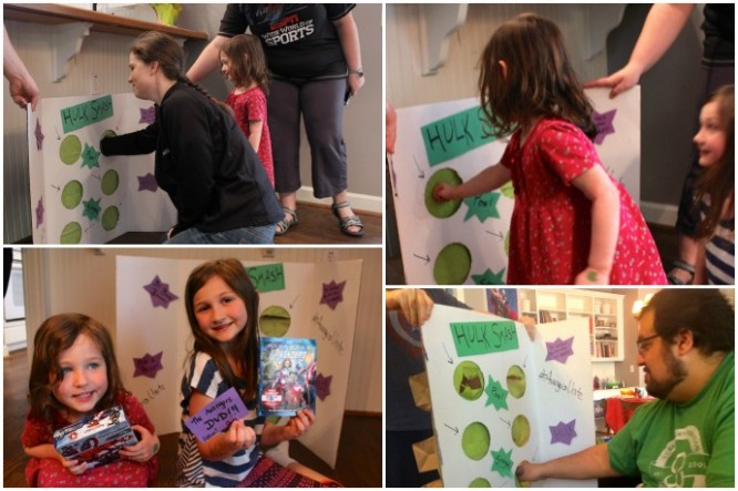 "Create a smashable ""HULK SMASH"" punch game for Avengers Party Prizes! #AvengersUnite"