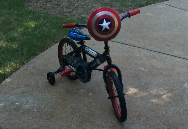 Captain America Bike 16 inches